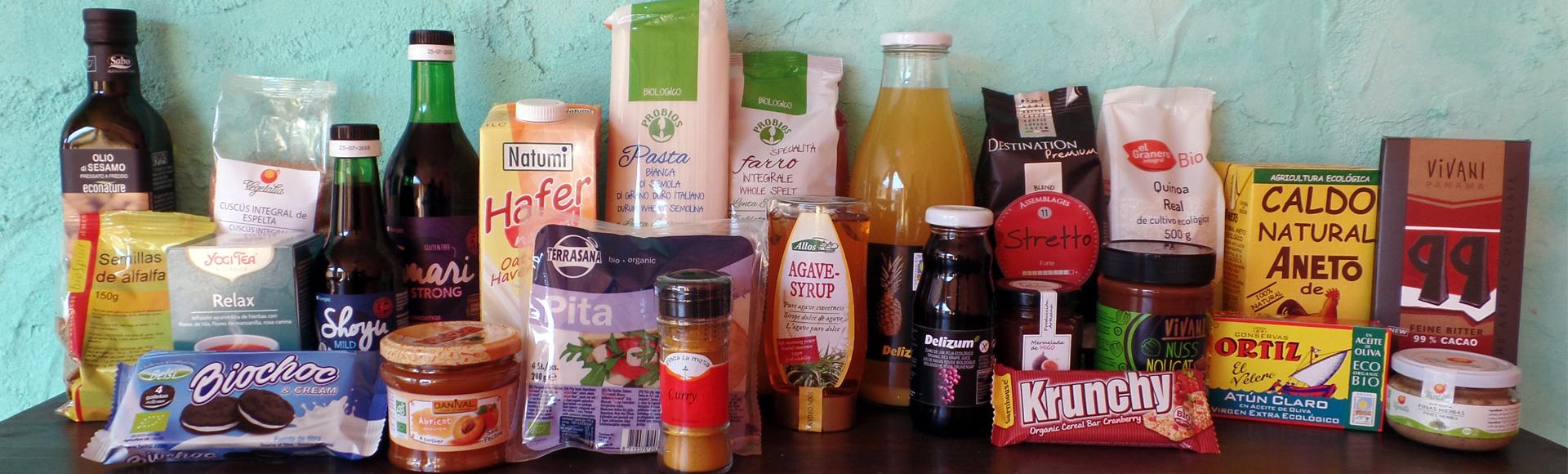 gran variedad de productos ecológicos